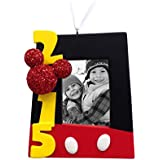 Hallmark Disney Mickey Mouse 2015 Photo Frame Christmas Ornament