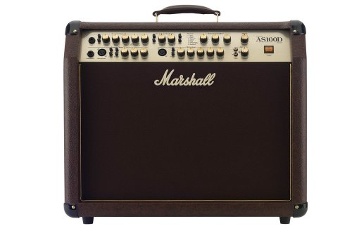Marshall AS100D Acoustic Series 100-Watt 2x8-Inch Guitar Combo Amp - Loudbox 100 Acoustic Amplifier