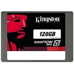 """Kingston SSDNowV300 Unità a Stato Solido Interno, 120 GB, 2,5"""", SATA 3.0"""