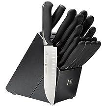 J.A. HENCKELS INTERNATIONAL Fine Edge Synergy 17-pc Knife Block Set