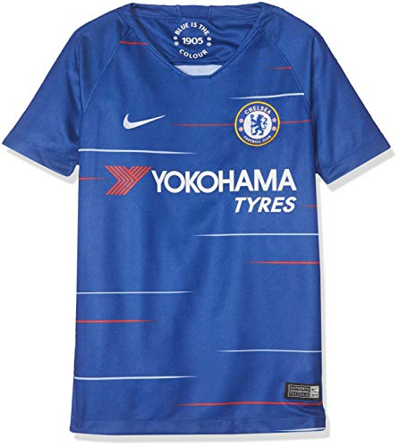 NIKE 2018-2019 Youth Chelsea FC Home Jersey (Rush Blue) (YM) ()