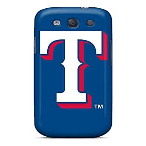 CharlesPoirier Samsung Galaxy S3 Great Hard Phone Cases Unique Design Trendy Texas Rangers Pictures [pBw7734cKqN]