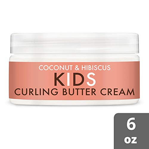 SheaMoisture Kids Coconut & Hibiscus Curling Butter Creme 6 Ounce