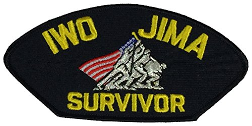 - IWO JIMA SURVIVOR PATCH - Multi-colored - Veteran Owned Business