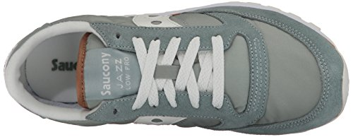 White Chaussures Original Saucony Femme Jazz Aqua de Cross Grey xp6g8P