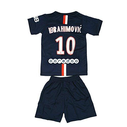 half off e8f69 f635d NEW PSG PARIS SAINT GERMAIN IBRAHIMOVIC #10 FOOTBALL SOCCER ...