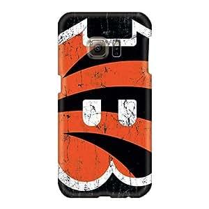 Best Cell-phone Hard Covers For Samsung Galaxy S6 (GKz4959mIcs) Custom Nice Cincinnati Bengals Series