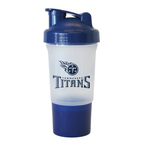 NFL Tennessee Titans Protein Shaker, 16-Ounce