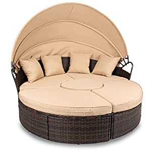 41Zfj9TTUvL._SS300_ 75+ Outdoor Wicker Daybeds For Your Patio For 2020