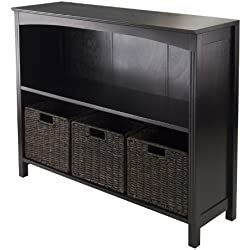 Winsome Terrace 4-Piece Storage Shelf/Bookcase