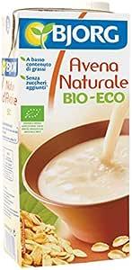 Bjorg Bebida Vegetal de Avena Natural - Paquete de 12 x 1000 ml - Total: 12000 ml: Amazon.es: Alimentación y bebidas