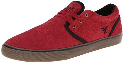 Fallen The Easy Skate Shoe,Oxblood/Black,10.5 M US