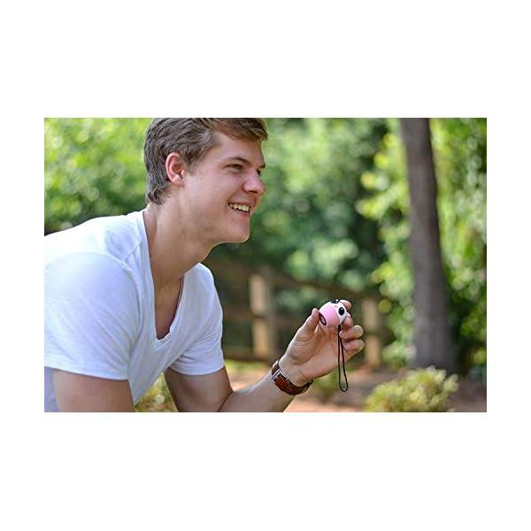 TBS2520 Mini Enceinte Bluetooth sans Fil - Mini Animal Cochon - Super Mignon & Puissante - 3 Watts - Kit Main-Libre Téléphone & Selfie - Appli pour Jouer - pour iPhone Samsung Huawei etc & Tablette 4