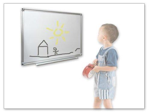 Whiteboard Weisswandtafel 45 x 30 cm Magnetafel Schreibtafel Pinnwand magnetisch Modell: WB01