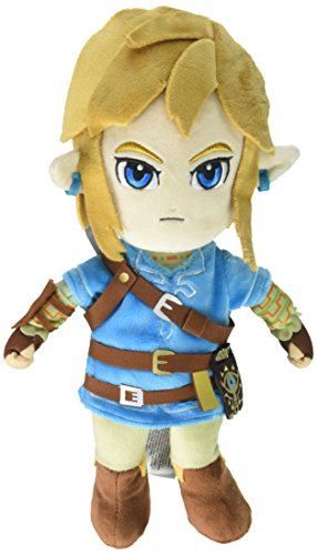 Little Buddy The Legend of Zelda Breath of The Wild Link Stuffed Plush]()