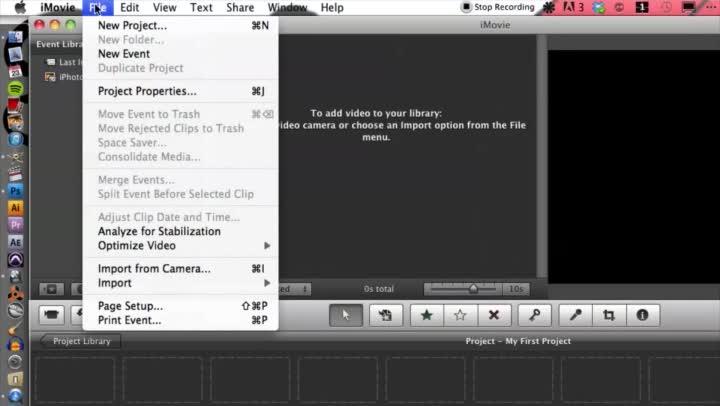 Putting Facebook Videos Onto iMovie