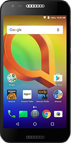 Alcatel A30 GSM (AT&T/T-Mobile) - 16 GB - Black – Unlocked - Prime Exclusive -