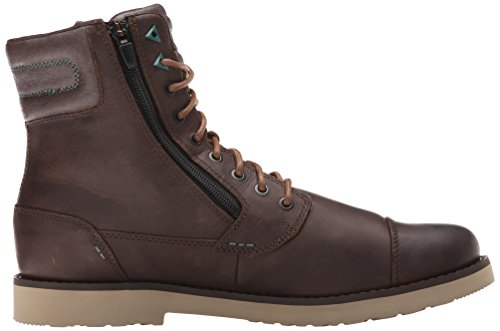 Teva Mens Mason Leather Casual Laars Bruin