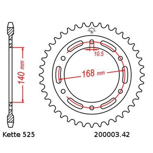 Kettensatz geeignet f/ür geeignet f/ür Husqvarna Nuda 900 12-14 Kette RK MM 525 GXW 112 offen GR/ÜN 17//42