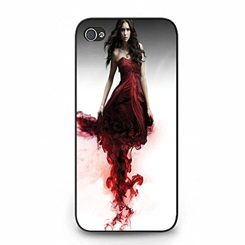 Samsung Galaxy S5 I9600 Vampire Bloody Cover Shell Uniuqe Magic Elena Gilbert Fantasy TV Show The Vampire Diaries Phone Case Cover for Samsung Galaxy S5 I9600