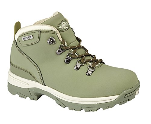LIGHTWEIGHT HIKING UK WATERPROOF WALKING TREK LADIES BOOT TREKKING LEATHER Green 4 qwO7B8a