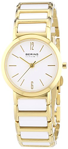 BERING Time 30226-751 Womens Ceramic Collection Watch with Stainless steel Band and scratch resistant sapphire crystal. Designed in Denmark.