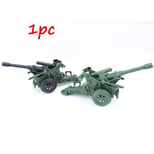 CHBR34 Military Anti Aircraft Gun Cannon Army Men Toy not include Soldier figure (Green Giant And Sprout Costumes)