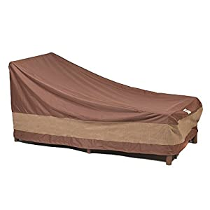 Duck Covers Ultimate Patio Chaise Lounge Cover, 74-Inch