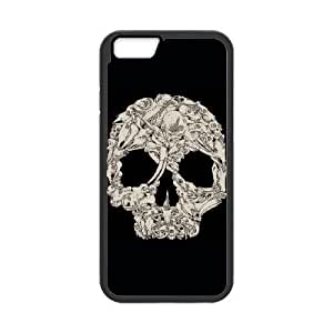 iPhone 6 4.7 Inch Cell Phone Case Black A whole lot of skulls