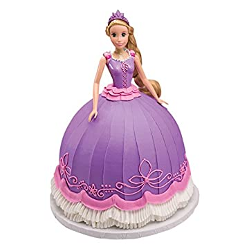 6 x PME Brunette Princess Doll Pick Birthday Cake Decorating Decorations