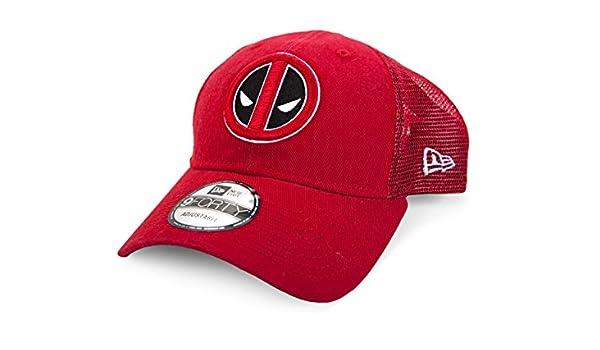 A NEW ERA Marvel Deadpool Symbol Washed Trucker Snapback Gorra De Béisbol: Amazon.es: Juguetes y juegos
