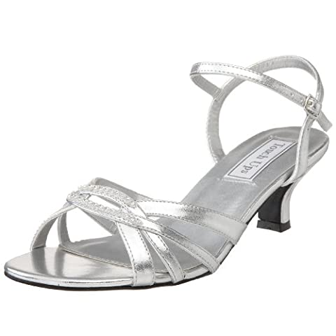 Touch Ups Women's Dakota Sandal,Silver,12 M US