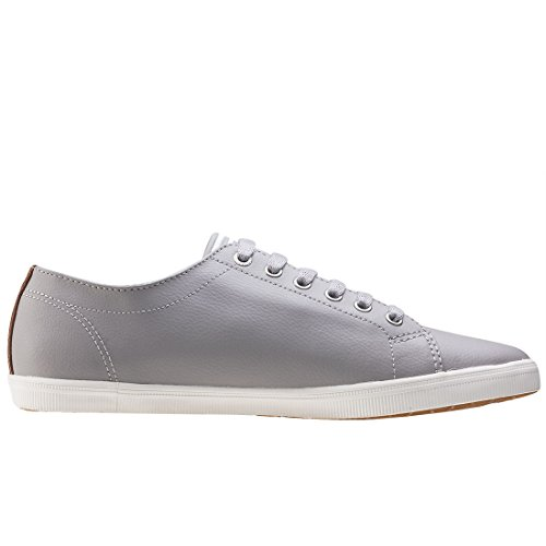 Fred Perry Kingston Leather Silver B6237U929, Deportivas