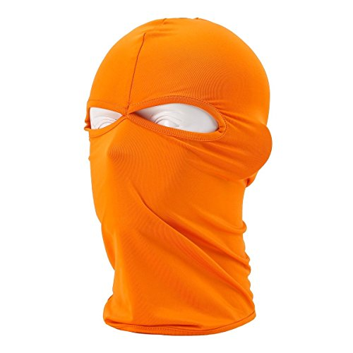 lilyy Outdoor Cycling Sports Face Mask Cool Fashionable Ultra Thin Balaclava (Orange)