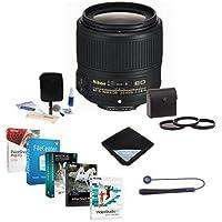 Nikon 35mm f/1.8G AF-S ED NIKKOR Lens Bundle w/58mm Filters & Pro Software