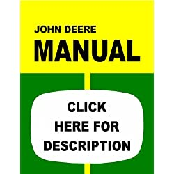 John Deere Tractor Service Manual (IT-S-JD55)