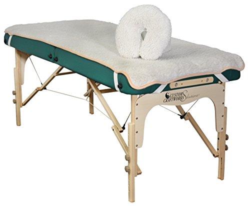 Custom-Craftworks-Fleece-Pad-Set-for-Massage-Table-Natural