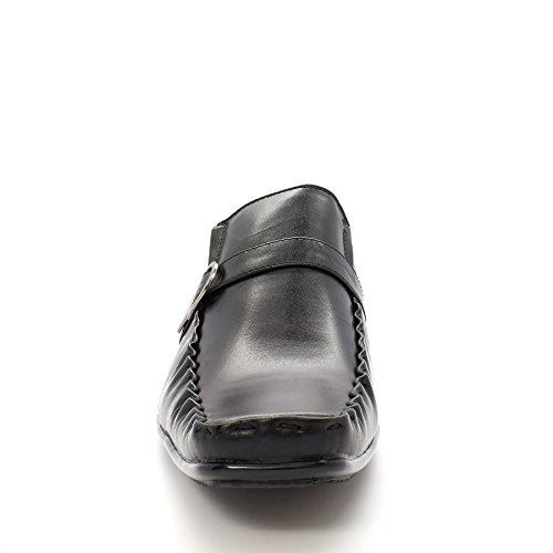 London Footwear - Sandalias con cuña hombre Negro - negro
