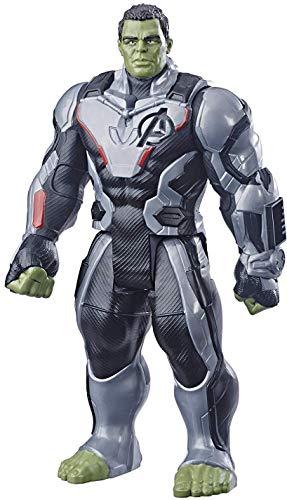 Boneco Titan Hero Marvel Deluxe 2.0 Hulk, Avengers, Verde