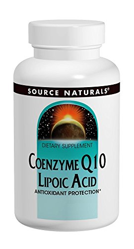 Source Naturals Coenzyme Q10,/Lipoic Acid 30mg/30mg, 60 Capsules For Sale