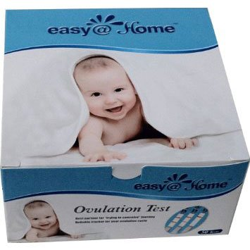 Easy@Home 50 Ovulation Test Strips Kit - the Reliable Ovulation Predictor Kit...