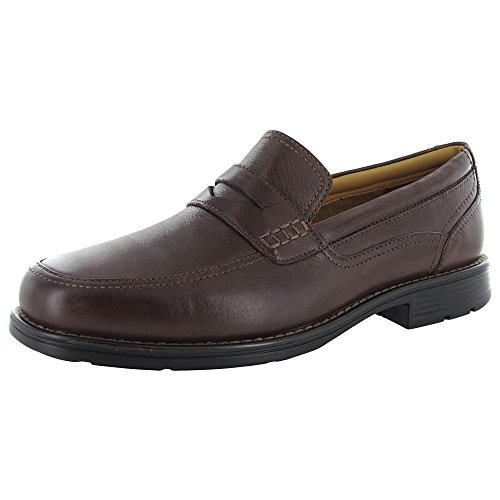 Rockport Men's Liberty Square Penny Brown Loafer 9.5 M (D) -