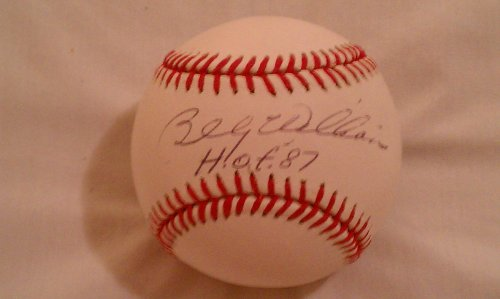 Billy Williams Autographed MLB Baseball (Williams Autograph Baseball)