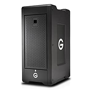 G-Technology G-SPEED Shuttle XL 80TB (8x 10TB) 8-Bay Thunderbolt 2 Storage Solution, RAID 0, 1, 5, 6, 10, & 50, Up to 1350 MB/s Transfer Rate
