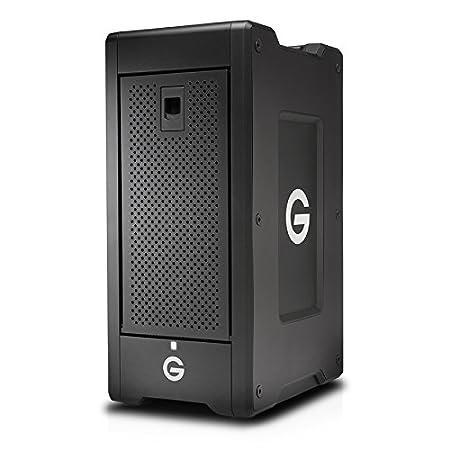 G-Technology G-SPEED Shuttle XL 60TB (6x 10TB) 8-Bay Thunderbolt 2 Hardware Storage Solution, RAID 0, 1, 5, 6, & 10, Up to 1300MB/s
