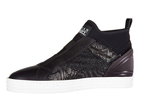 Mujer r182 Mid Zapatos Rebel Cut Deporte Zapatillas elasti largas de Hogan YqcfTW