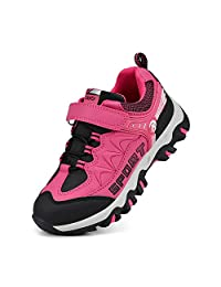Troadlop Kids Shoes Boys Waterproof Running Hiking Sneakers for Girls