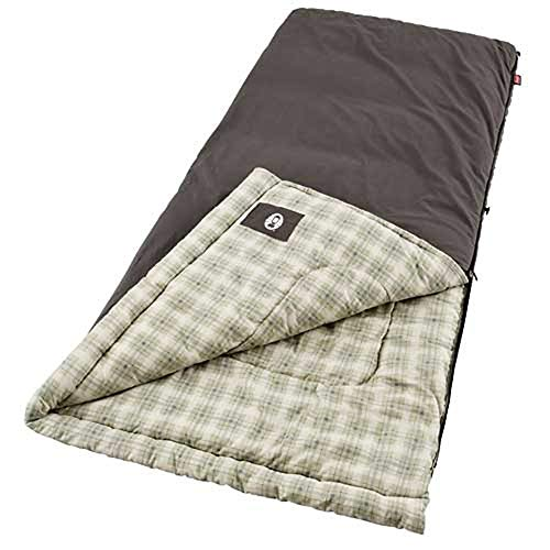 Coleman Big & Tall Sleeping Bag | 0°F Sleeping Bag | Heritage Cold-Weather Camping Sleeping Bag