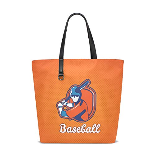 001 Baseball Unique Femme Pour Bennigiry Cabas Tote Taille 8pA5qw7n