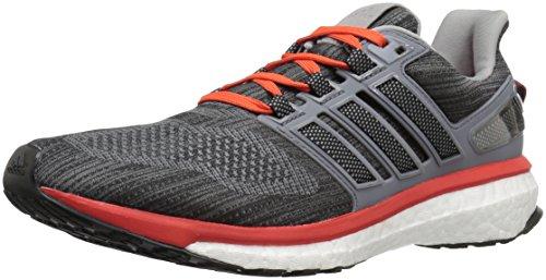 Adidas Performance Mens Energy Boost 3 M Scarpa Da Running Vista Grigio / Grigio Medio / Energia